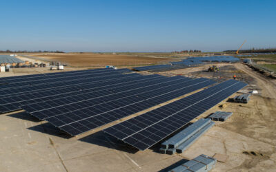 Solar park in the region of Laon : works advance well